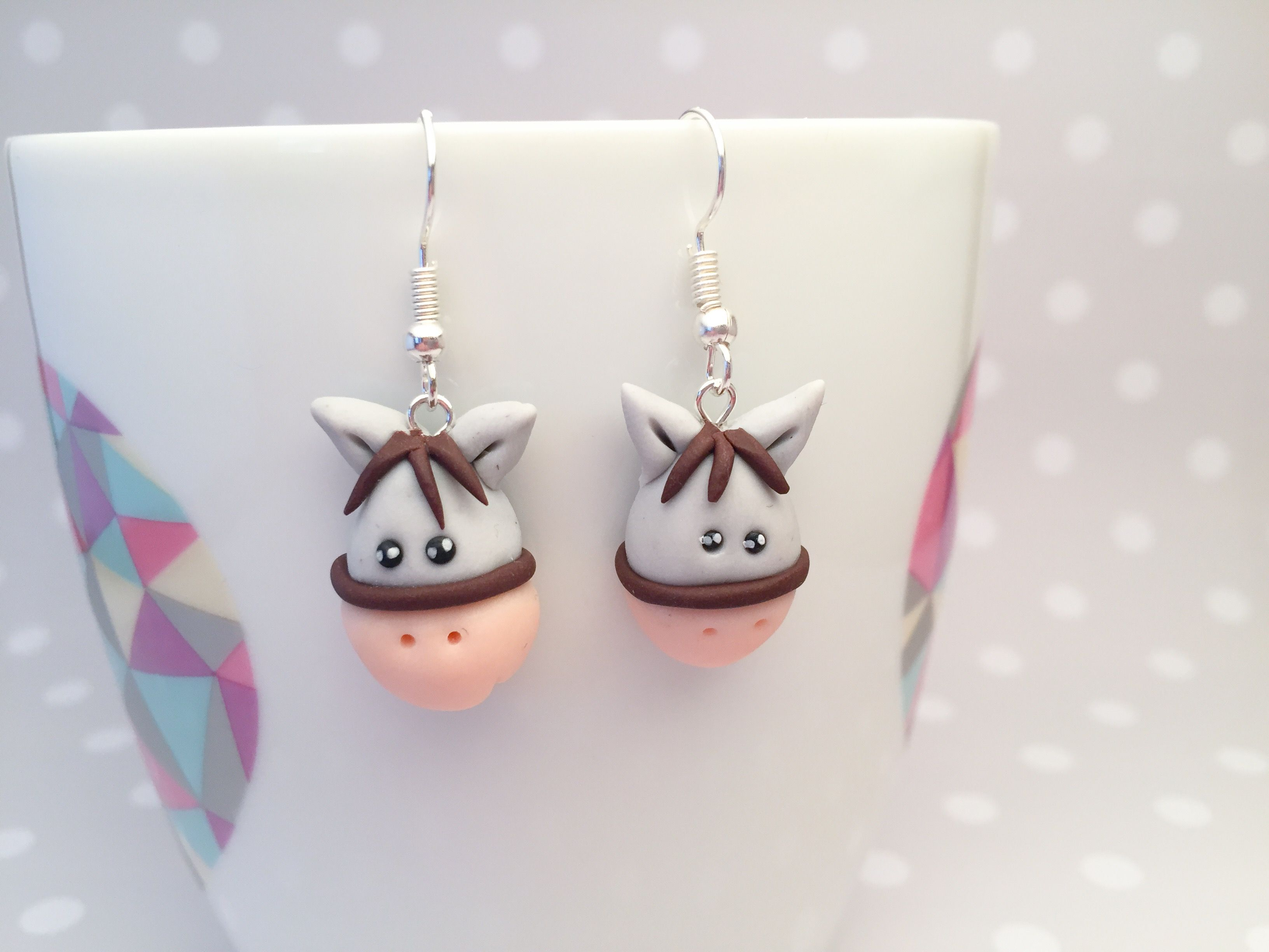Polymer clay jewellery earrings polymer clay horse mollie polymer clay jewellery earrings polymer clay horse aloadofball Gallery