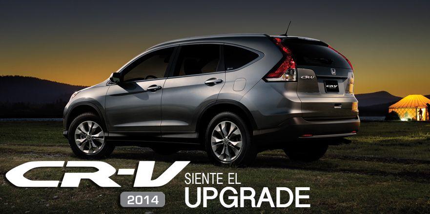 Honda CRV 2014 Su perfil aerodinámico, la fuerte
