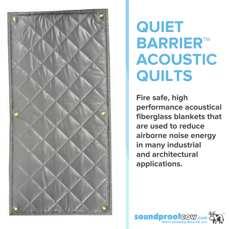 Quiet Barrier Acoustic Quilts Are An Affordable And Flexible