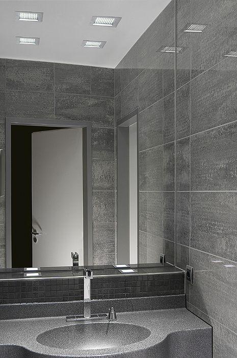 Auch im Bad eine gute Figur Moderne aber schlichte LED - led einbauleuchten badezimmer