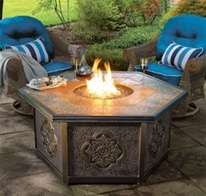 Pin By Hgtvgardens On Garden Pinterest Cool Fire Pits Gas Fire Table And Rustic Fire Pits