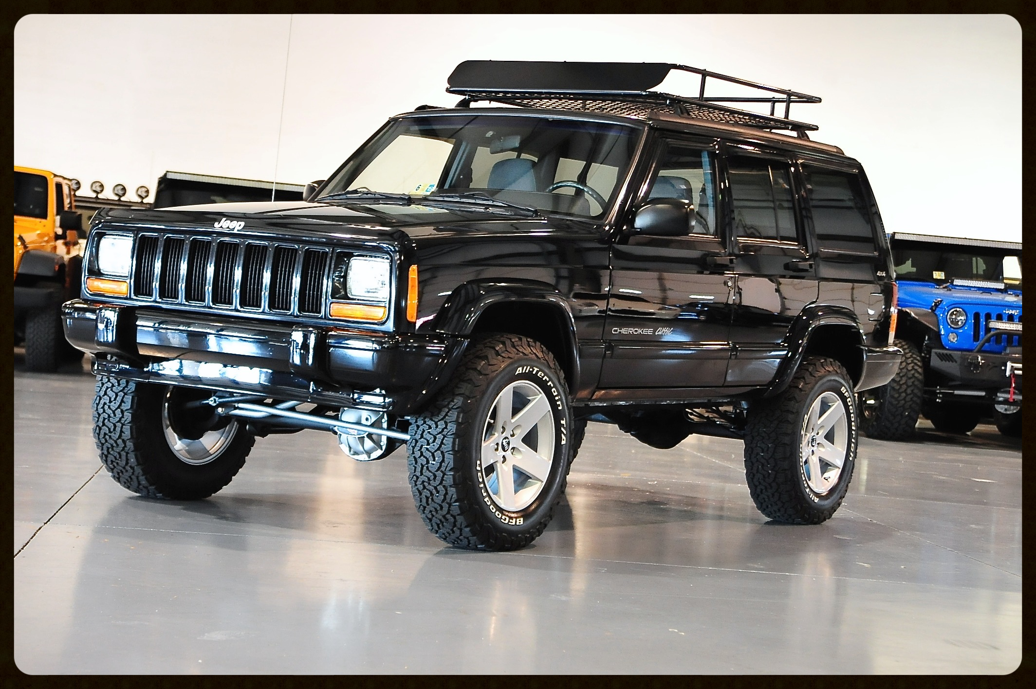 Cherokee Classic With Only 58k Original Miles Click Here To See