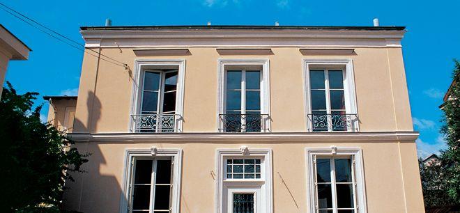 Rénover sa façade avec de l\u0027enduit à la chaux Construction - peindre un crepi exterieur