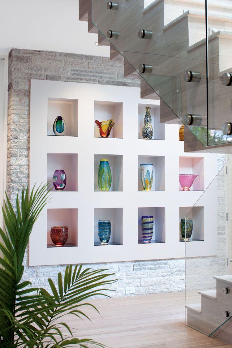 Art Niche | tablaroca | Pinterest | Nichos de pared, Recibidor y Repisas