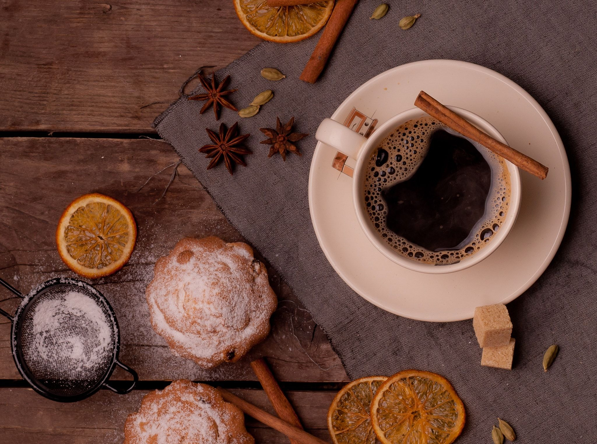 winter coffee - null