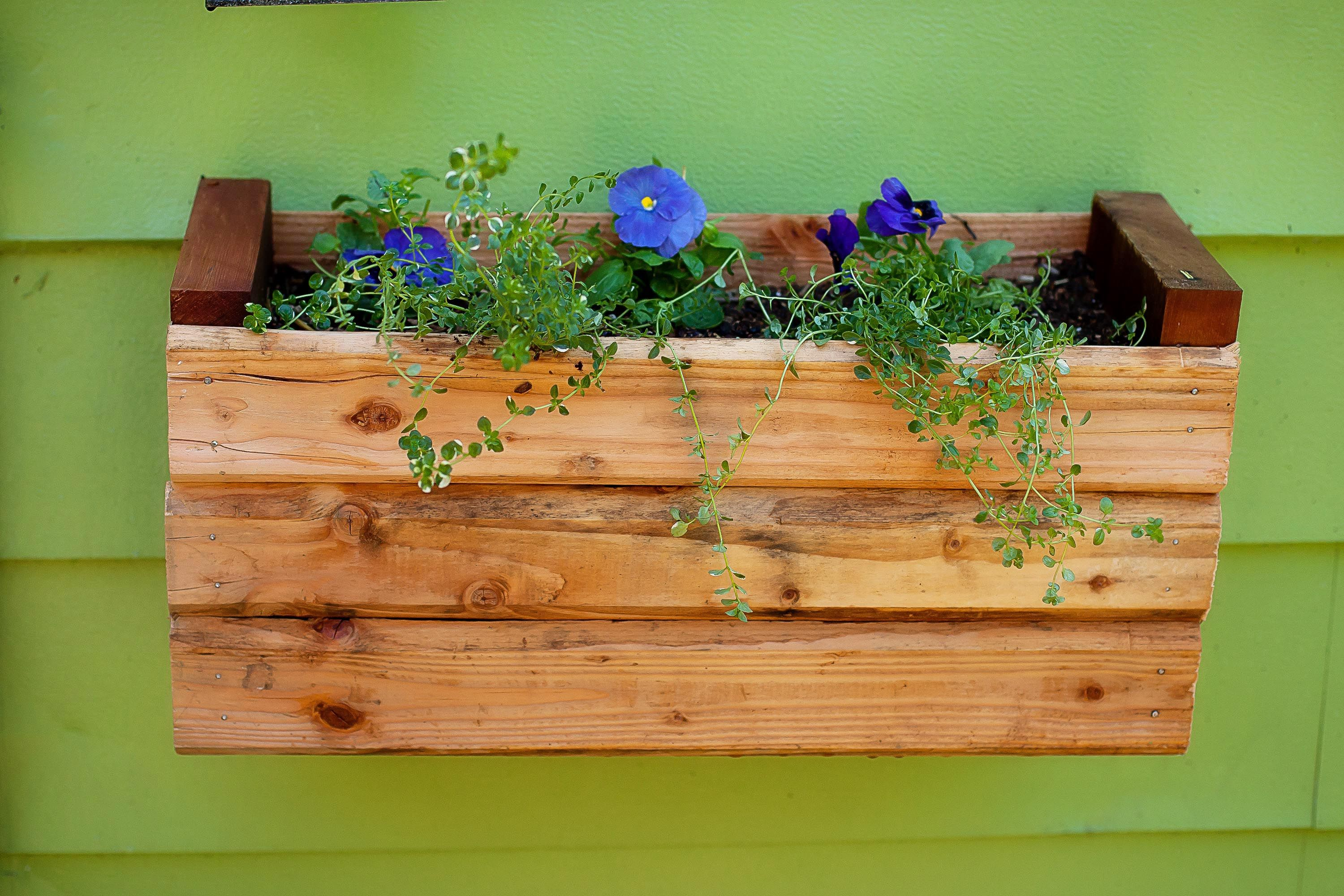 How to Attach Flower Boxes Without Drilling Holes Flower