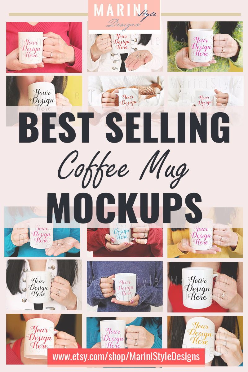 Download BEST SELLING Coffee Mug Mockups to attract more clients ... Free Mockups