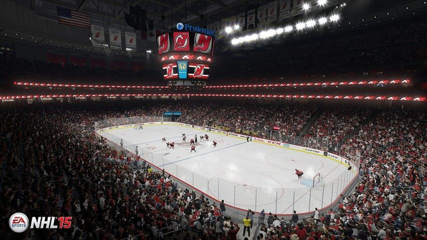 NHL 15 - Prudential Center  Home Ice: New Jersey Devils Location: Newark, New Jersey Opened: October 25, 2007