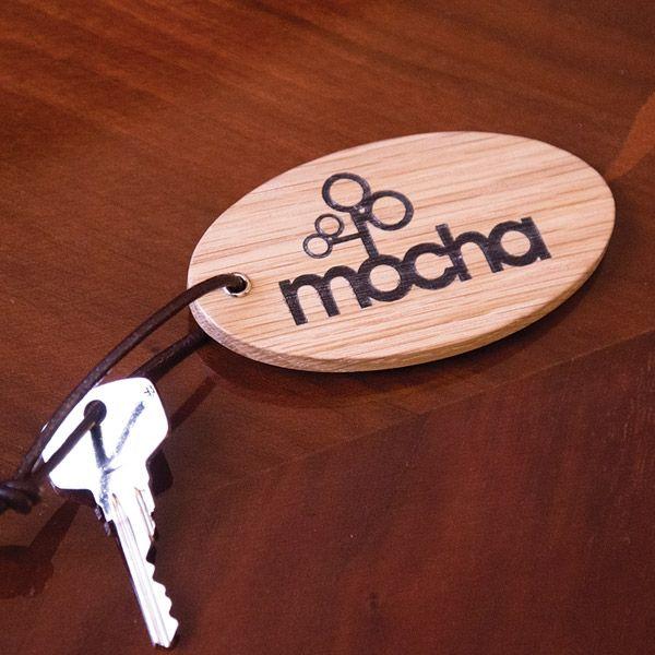 Llaveros de madera personalizado