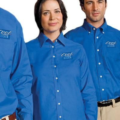 c1a4b4415 Buy custom embroidered Harriton promotional products online at EZ Corporate  Clothing; men's and ladies Harriton Oxford shirts and fleece jackets, no  minimum