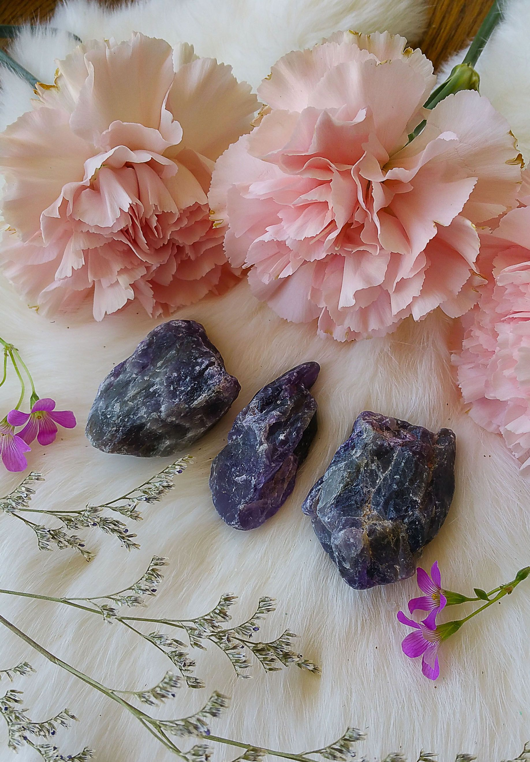 Natural chevron amethyst chunks amethysts and products