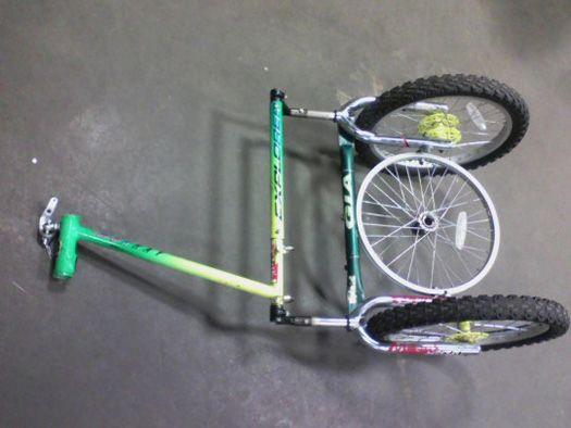 Bike Trailer Built From Bike Parts Bike Trailer Bike Cart Bike Parts