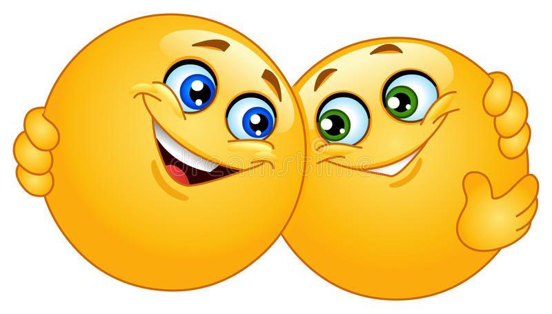 Hugging Emoticons Two Emoticons Hugging Each Other Ad Hugging Emoticons Hugging Ad Hug Emoticon Funny Emoticons Smiley Emoji