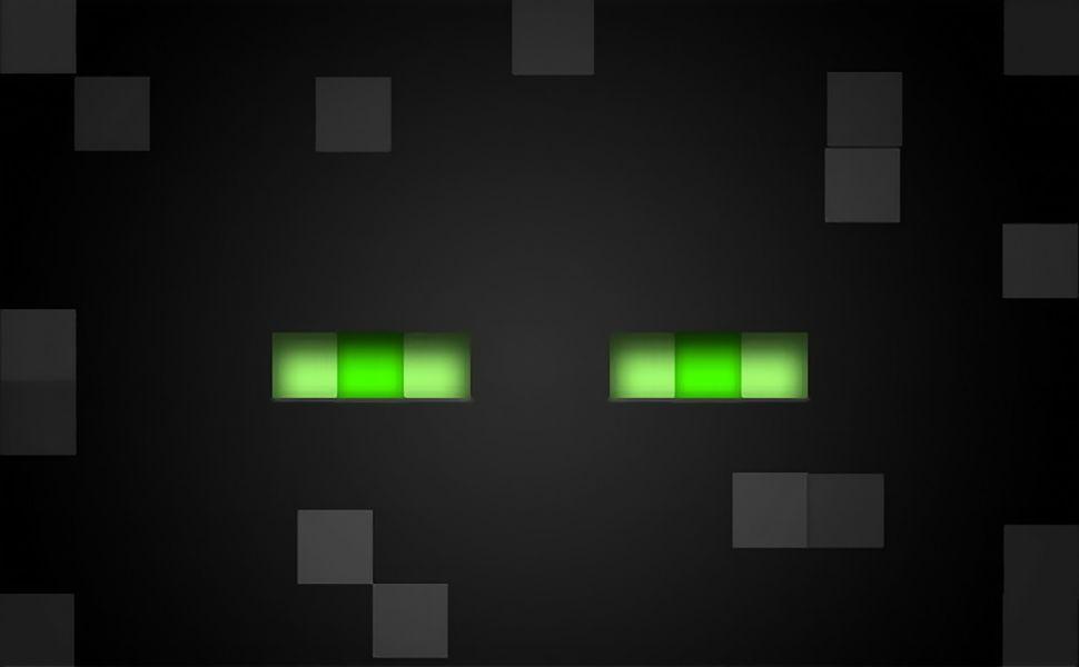 Minecraft Enderman HD Wallpaper