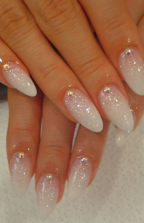 DIY Glitter Nails, diy glitter ombre nails, diy loose glitter nails ...