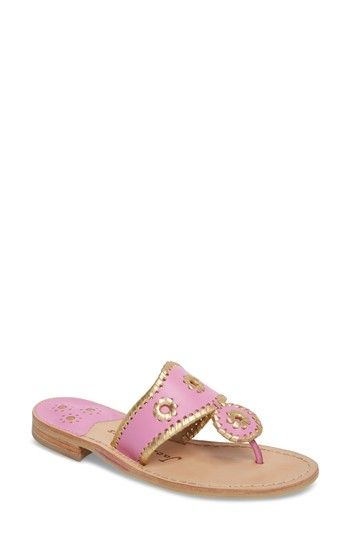 95469c813236 JACK ROGERS HOLLIS FLAT SANDAL.  jackrogers  shoes