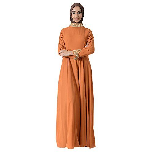 e25c947be3c Jeweled Neck Eid Abaya+Hijab