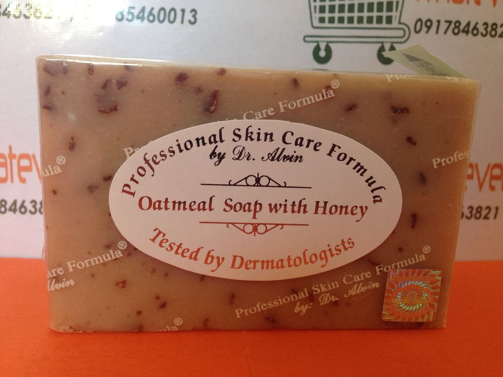 Oatmeal Soap With Honey Professional Skin Care Formula By Dr Alvin Professional Skin Care Products Oatmeal Soap Oatmeal