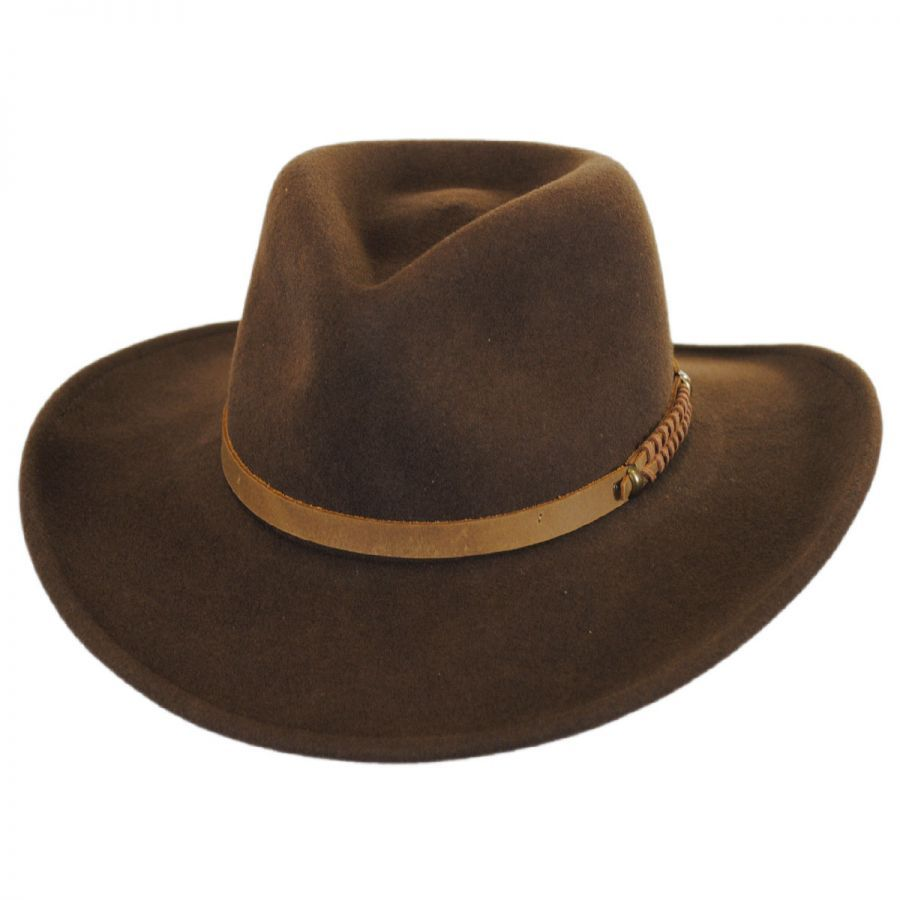 Popular Prospector Wool Felt Outback Hat outback hat 2945cb3cac1