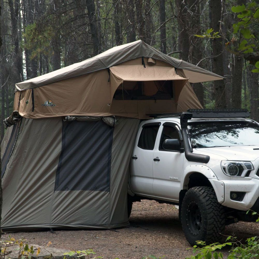 The Tuff Stuff Rooftop Tent Is Designed To Provide The Ultimate Comfort Ease And Convenience When Traveling To The Most Truck Bed Tent Roof Top Tent Top Tents