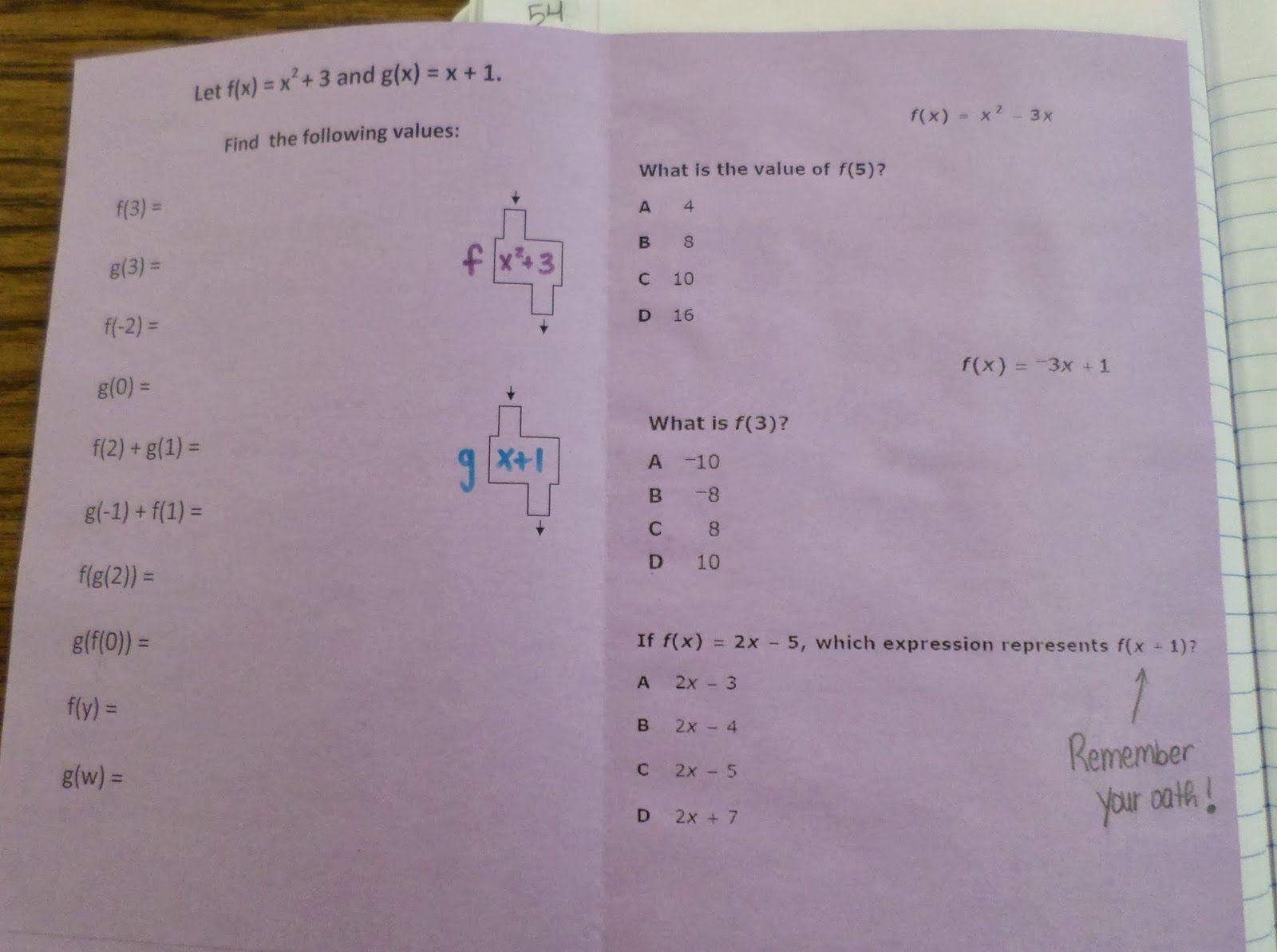 Math \u003d Love: Fabulous Function Machines   Teaching blogs [ 1193 x 1600 Pixel ]