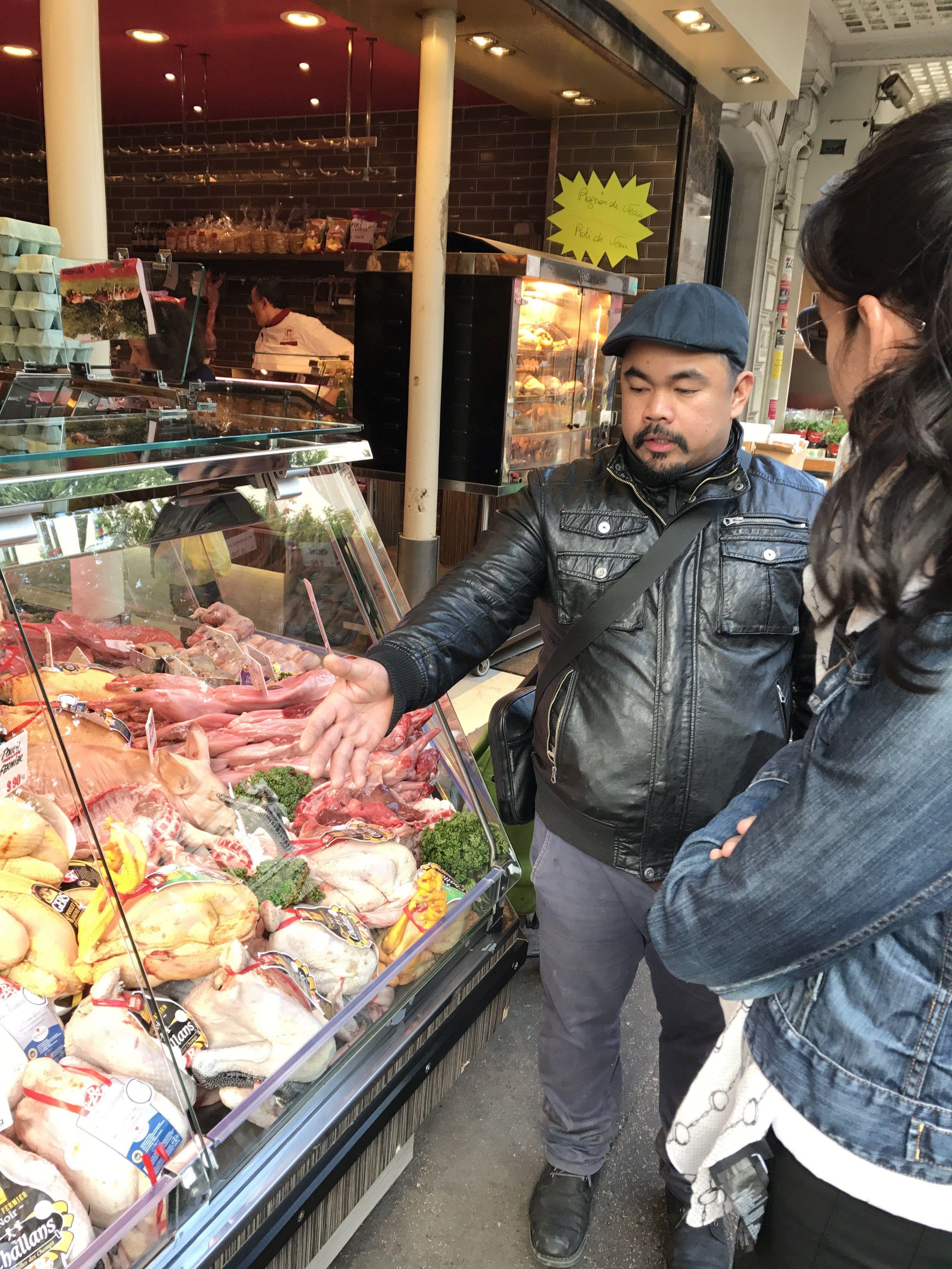 Sunday market in Paris