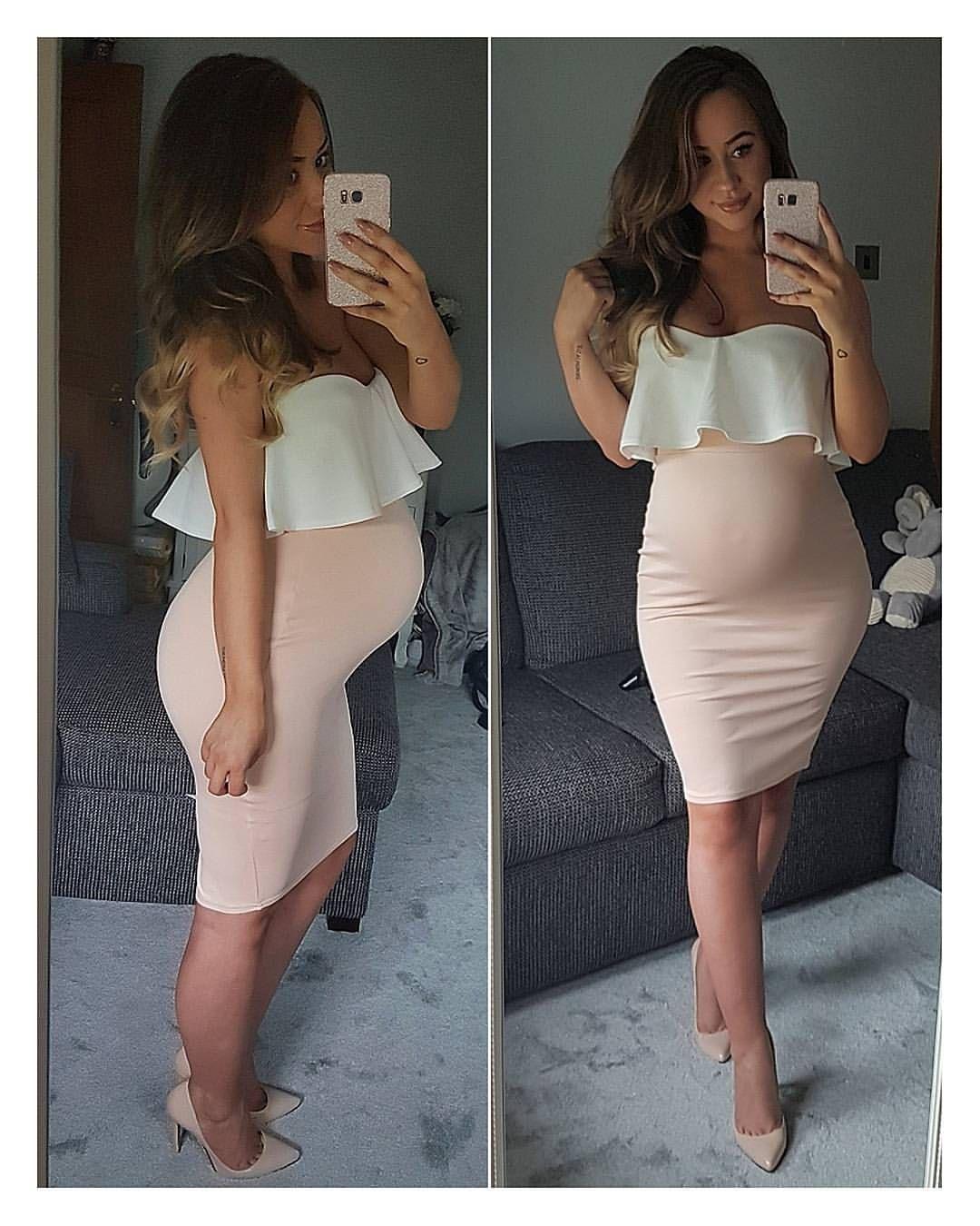 schwanger sexy kleid