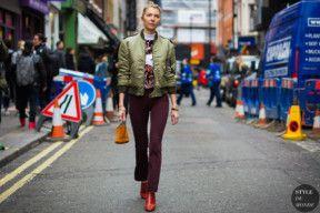 STYLE DU MONDE / London Fashion Week FW 2016 Street Style: Roberta Benteler  // #Fashion, #FashionBlog, #FashionBlogger, #Ootd, #OutfitOfTheDay, #StreetStyle, #Style
