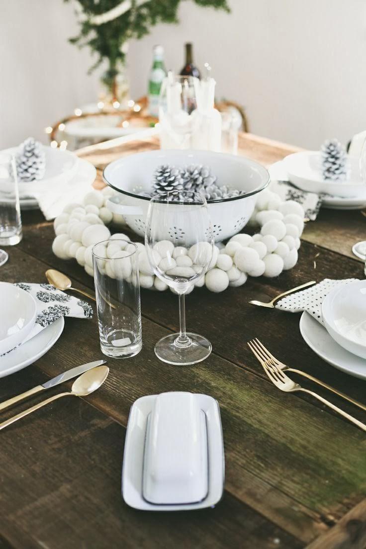Déco table Noël originale et élégante pour une fête inoubliable