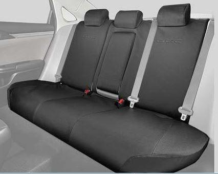 2016 Civic 4Dr Rear Seat Covers 60 40 SPLIT DESIGN SEAT