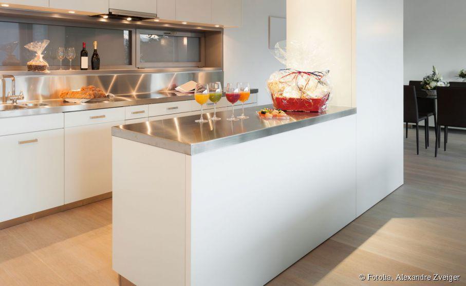 ouvrir salon pour cuisine ouverte - Cloison Cuisine Americaine