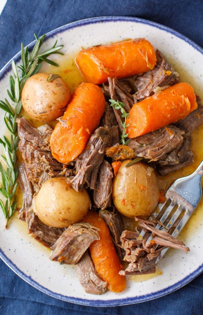 Instant Pot Pot Roast - Best Instant Pot Chuck Roast Recipe #instantpotrecipes