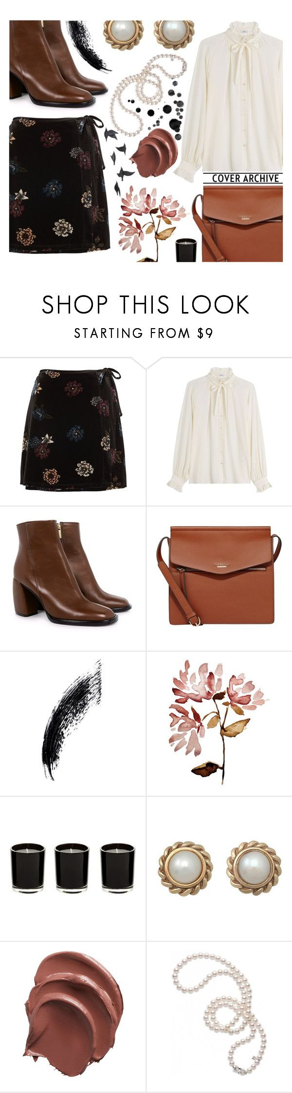 """Dear Isabelle"" by abdalla-aguiar-1 ❤ liked on Polyvore featuring Closed, TIBI, Fiorelli, Mikimoto and Jayson Home"