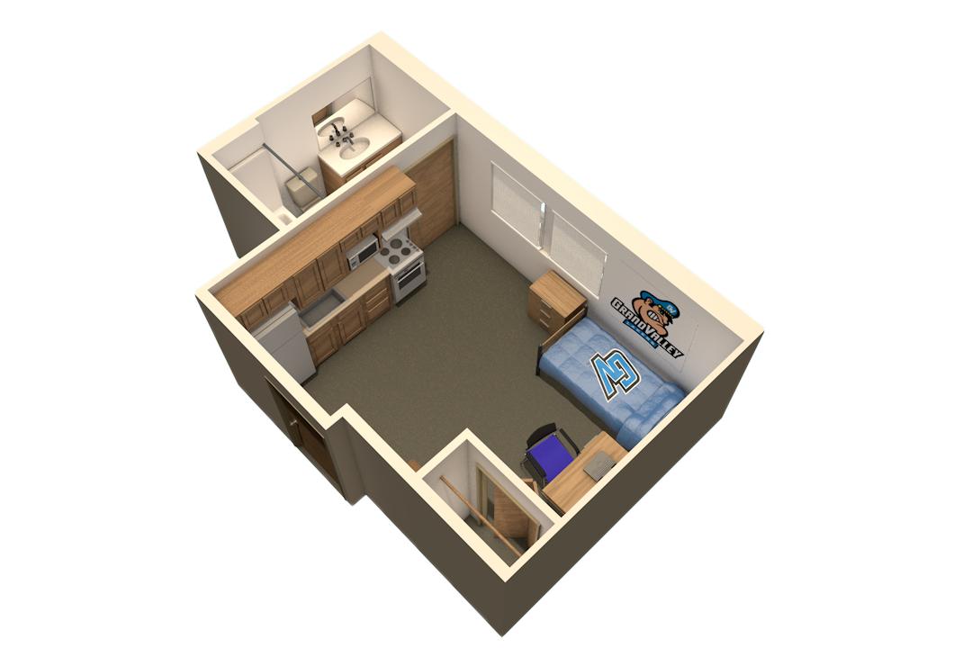 Gvsu Niemeyer Efficiency Housing Options Gvsu House Plans