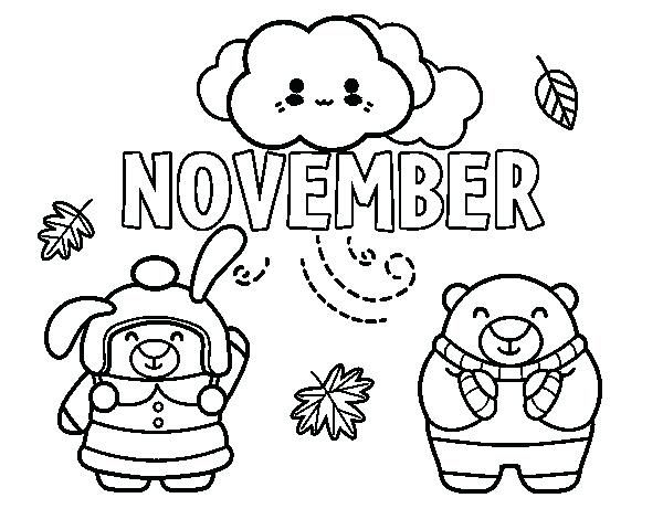 November Coloring Pages Coloring Pages For Kids Coloring Pages