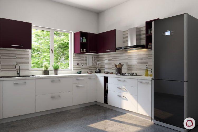 9 Backsplashes For A Visibly Larger Kitchen L Shaped Kitchen