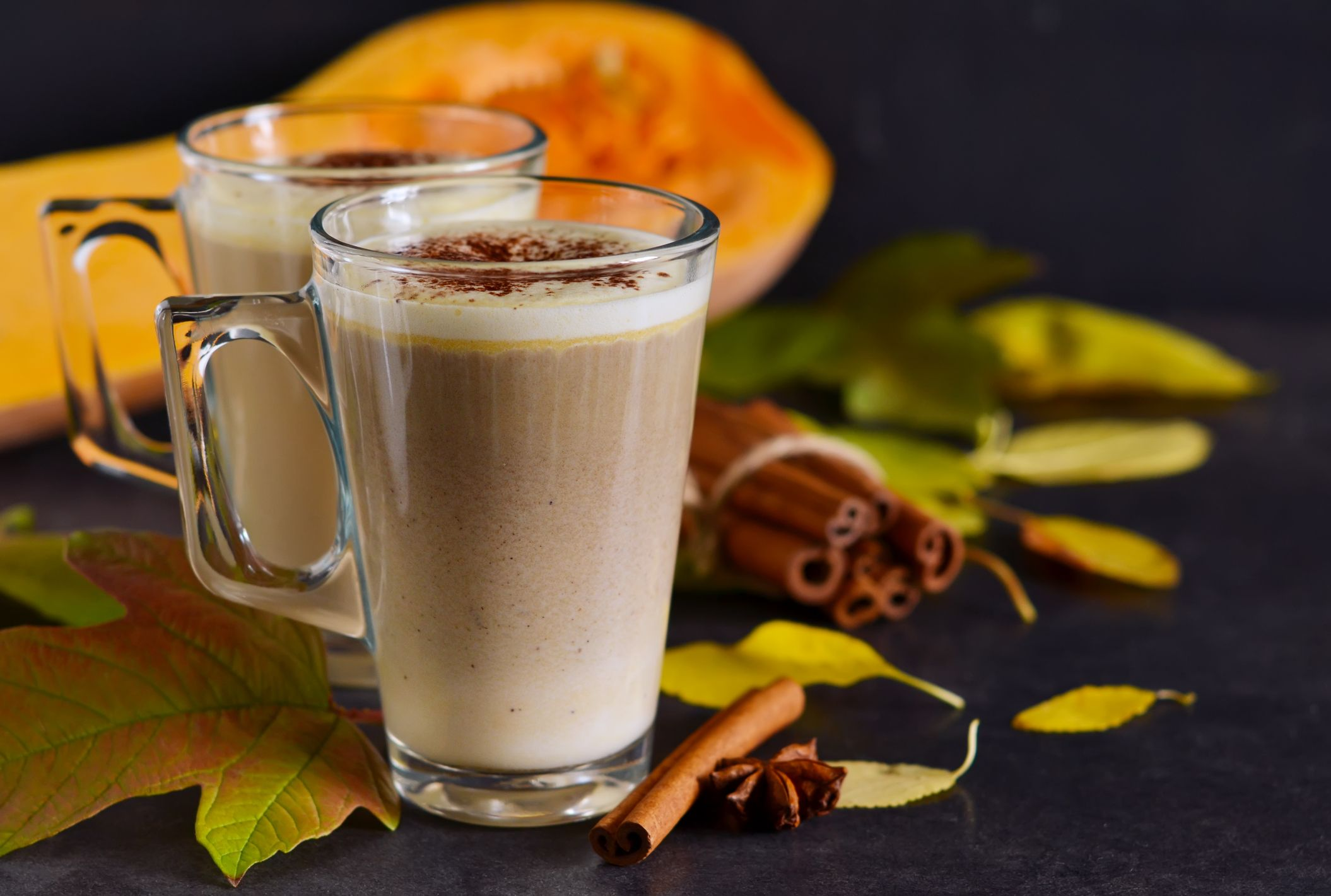 Try this recipe for a completely vegan pumpkin spice latte!
