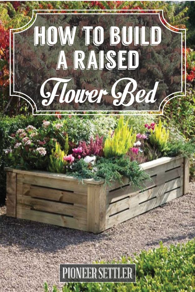 How To Build A Raised Flower Bed Garden Share Gardening Ideas