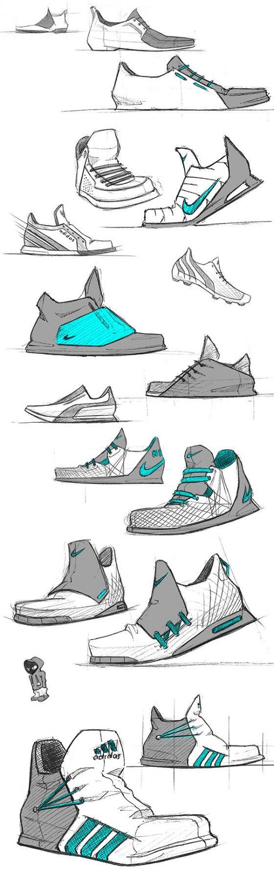 julien_fesquet_1 Footwear sketching references in 2019