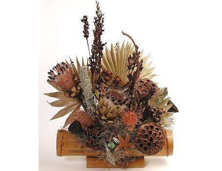 Decoração com flores secas - dicas, ideias, fotos 3 flores secas - flores secas