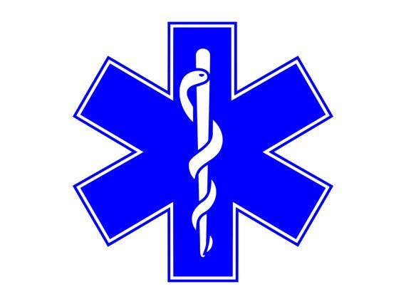Rod of Asclepius Medical Logo Paramedics Symbol Outdoor ...