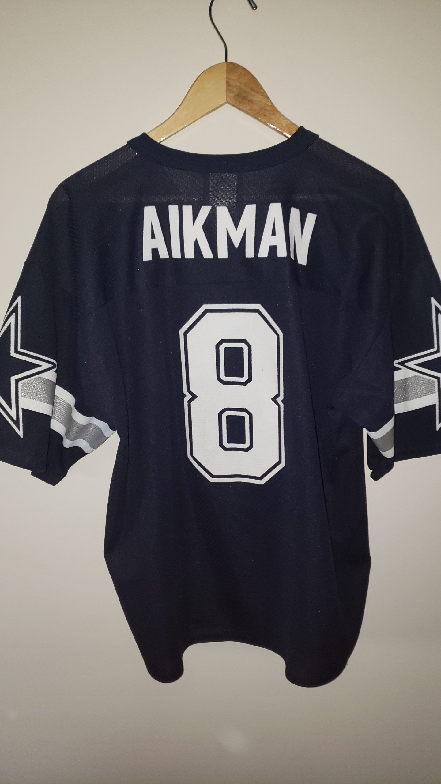 1ef6a3a639f Vintage 90's NFL Dallas Cowboys Troy Aikman Logo Athletic Jersey - Size XL  Starter Sports Hip Hop Urban Fashion Football QB Hall of Fame by  RackRaidersVtg ...