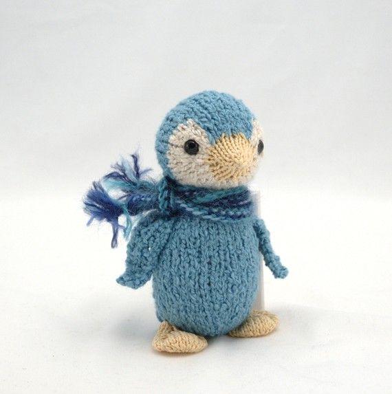 Blue penguin | haken, breien | Pinterest | Obsesion, Amo y Animales