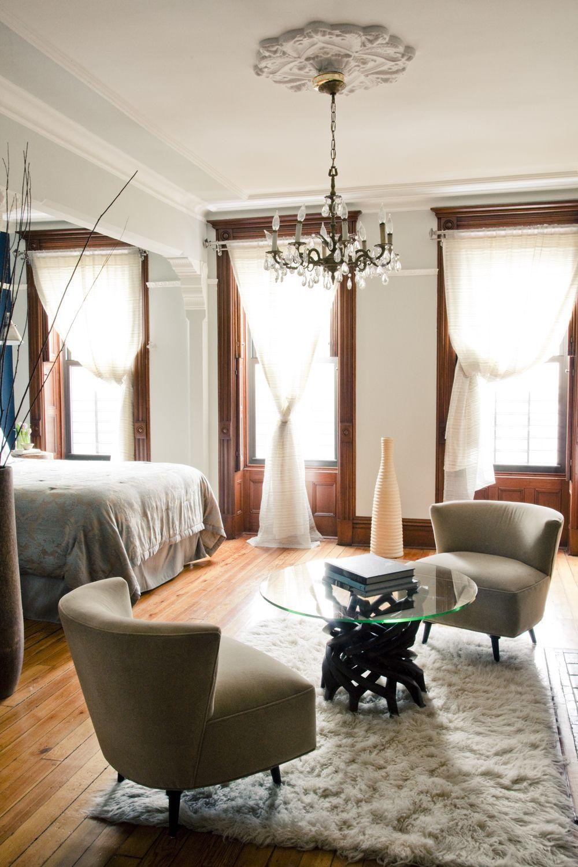 "Interior Design Of Bed Rooms: ""Brooklyn Brownstone Interior Design Project: Master"