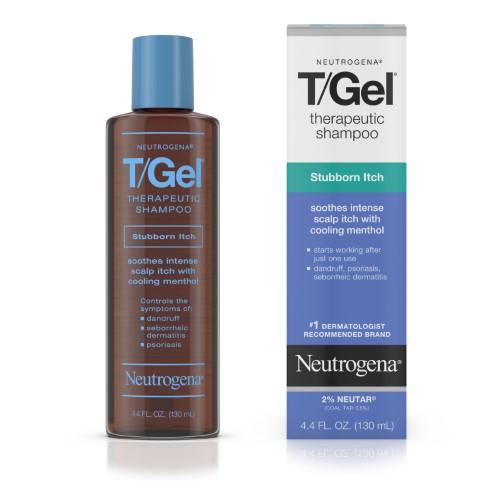 Neutrogena T Gel Therapeutic Shampoo Stubborn Itch 4 4 Fl Oz Multi Dandruff Treatment Dandruff Treatment Shampoos Shampoo For Itchy Scalp