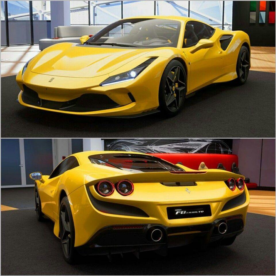 Immagini F8 Tributo Ferrari: Ferrari F8 Tributo In Yellow
