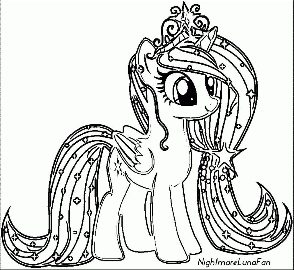Alicorn Coloring Pages My Little Pony Coloring Horse Coloring Pages My Little Pony Unicorn