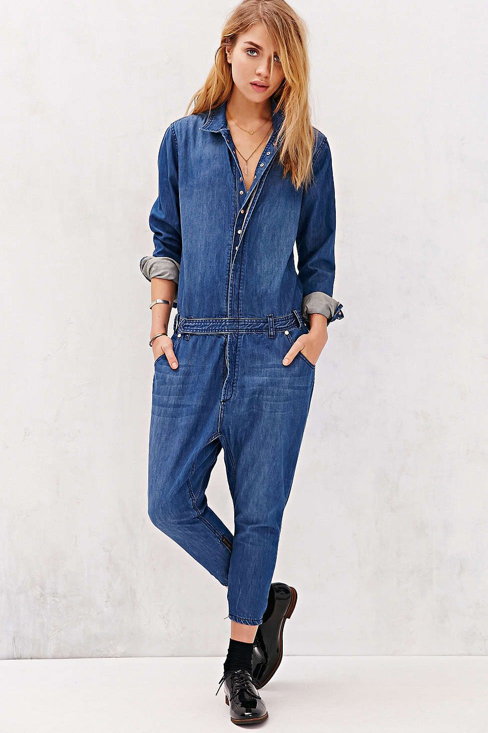 edb0bde56f0b One Teaspoon Utility Jumpsuit - Urban Outfitters