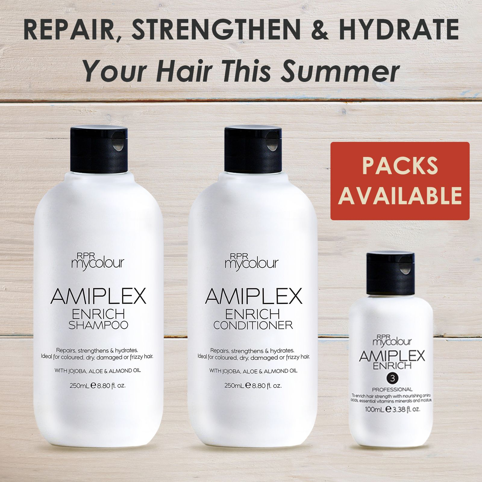Repair, strengthen & hydrate your hair this summer with