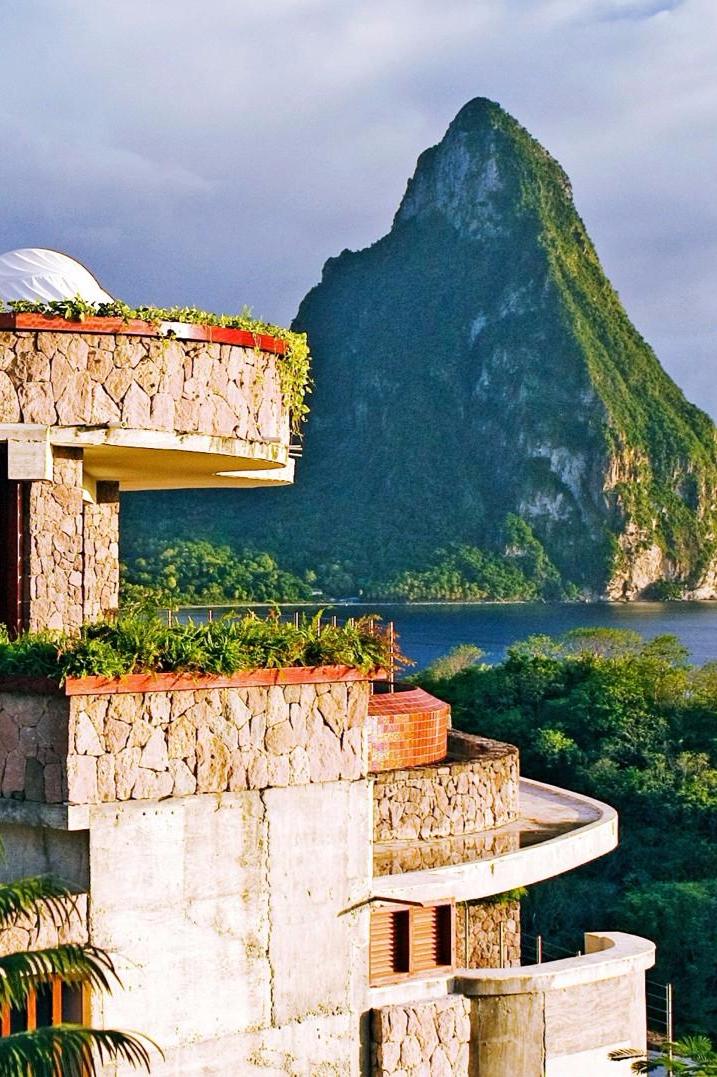 Jade Mountain Resort (St  Lucia, Caribbean | DESTINATIONS